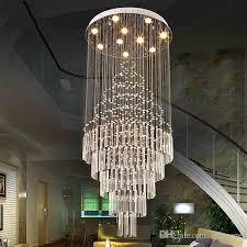 led pendant light art design living room dining room chandeliers light k9 crystal fixtures ac110 240v crystal ceiling lamps vallkin lighting multi coloured
