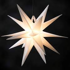 Beleuchteter Weihnachtsstern Außen Beleuchteter