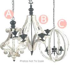 frightening white distressed chandelier white distressed white distressed regarding wood orb chandelier view of white wooden