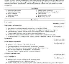 resumes for accountants and financial professionals finance resume objective finance professional resume bookkeeper
