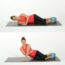 number two side arm push ups