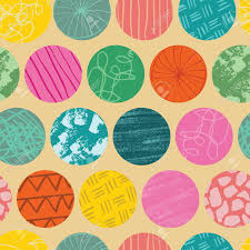 Designing Repeat Patterns For Textiles Doodle Circle Seamless Abstract Repeat Pattern Great For Textile