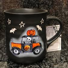 This everlasting tradition has people dressing up, watching horror movies, or just enjoying candy. Cobwebs Cauldrons Kitchen Cobewebs Halloween Coffee Mug 3d Texture Poshmark