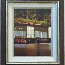 respect michael ashcroft original painting manchester united free uk delivery from hepplestone fine art uk retail art gallery of the year 2016