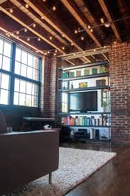 lighting idea. idea for the tv in a loft full of windows our midwestern studio tour by these are things lighting