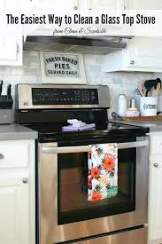cleaning glass top stoves 2 items are all you need to keep your glass top stove