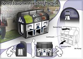 Vending Machine Rental Prices Beauteous Sports Equipment Vending Machine By Ryann Samuel