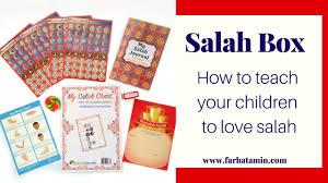 Salah Box Muslim Gift Salah Chart Salat Journal Muslim Gift Box
