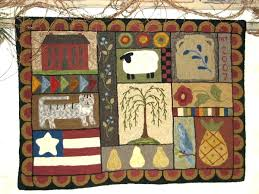 star area rugs rustic barn patch rug country wine