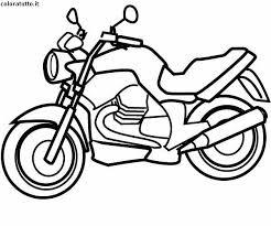 Disegni Di Moto Da Colorare Moto Da Cross Numero 1 Disegno Da