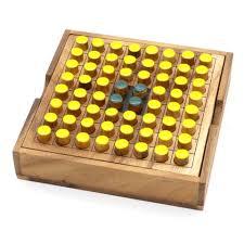 Wooden Othello Board Game Wooden Games BSIRIBIZ 44