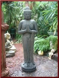 garden stone cement statues