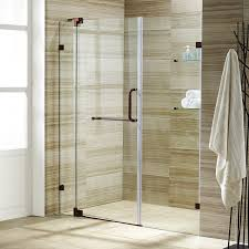 vigo shower doors. VIGO Pirouette 54 To 60-in. Frameless Shower Door With .375-in. Clear Glass And Oil Rubbed Bronze Hardware - Amazon.com Vigo Doors O
