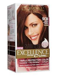 M : Loreal Excellence Creme hair Color - gray