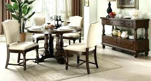 grey wood round dining table round dining table with storage walnut wood round dining table classic