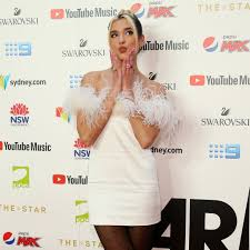 Dua Lipa at the 2019 ARIA Awards in ...