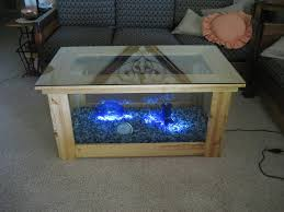 view in gallery diy coffee table fish tank