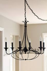 a rustic chandelier to go with a beautiful farmhouse table see more photos at lovegrowswild