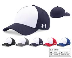 Under Armour Baseball Cap Size Chart Ua Color Blocked Blitzing Team Cap From Wave One Sports