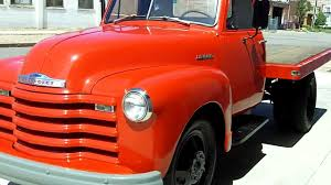 1951 Chevrolet Dually Flatbed for sale - YouTube