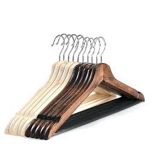 wood hangers thick vintage clothes hang hanger high grade sy clothing racks from white bulk wood hangers
