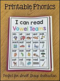 Once you make your payment you will be able. Vowel Teams Printable Intervention Sarah S Teaching Snippets