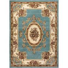 timeless le petit palais light blue 11 ft x 15 ft traditional area rug