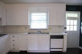 painted white kitchen cabinets before and after. Painting Kitchen Cabinets White Painted Before And After