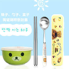 single cutlery set. Fine Single Get Quotations  Mini Rice Cooker With Ceramic Bowl  Tableware Gift Set Stainless Steel Single Cartoon For Single Cutlery Set O