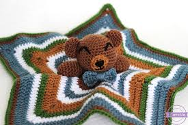 Free Crochet Lovey Pattern Amazing The Cuddliest Crochet Bear Lovey Sewrella