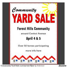 Garage Sale Flyers Free Templates Community Yard Sale Flyer Template Yourweek B31bebeca25e Detached
