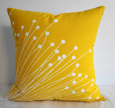 Cool White And Yellow Pillow Design Ideas For Modern Bedroom Accent Pillow