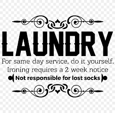 laundry room wall decal nursery png