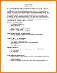 maintenance duties resume hvac technician resume best resumes maintenance technician job