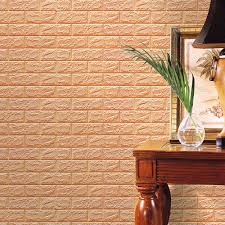 fashion pretty pe foam 3d wallpaper diy stickers