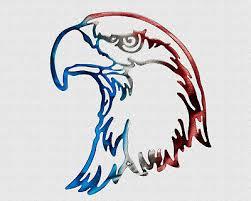 american bald eagle head patriotic