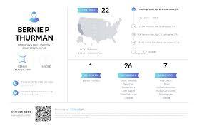 Bernie P Thurman, (310) 208-0806, 7 Meritage Cmn, Livermore, CA ...