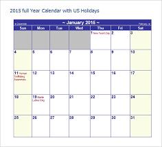 free year calendar 2015 40 microsoft calendar templates free word excel documents free
