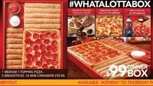 pizza hut dinner box