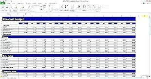 example of personal budget sample excel budget annual budget template excel budget template