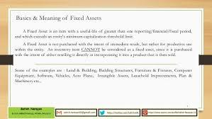 Fixed Asset Process