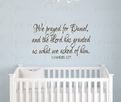 Christian Baby Quotes Best of 24 Scripture Wall Decals For Nursery Wall Decals Bible Verse Decals