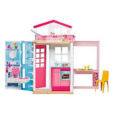 barbie furniture dollhouse. Barbie® 2-Story House Barbie Furniture Dollhouse R