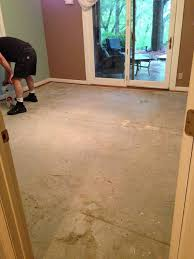 painting concrete bedroom floors. goodbye carpet hello stenciled floor with annie sloan chalk paint, bedroom ideas, paint painting concrete floors