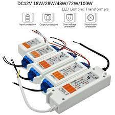 1pcs dc12v power supply led