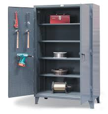 Storage Cabinet With Locking Doors Strong Hold Products Industrial Storage Cabinets