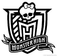 Small Picture Monster High Symbols Coloring Pages GetColoringPagescom