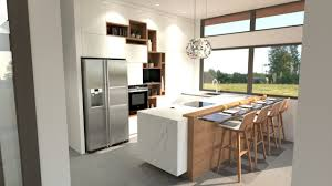 Cuisine Moderne Blanche Avec Ilot House Cuisine Moderne Cuisine