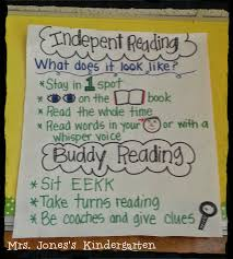 Independent Reading Anchor Chart Anchor Charts Anchor