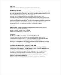 Charge Nurse Resume Example 12 Nursing Resume Template When You